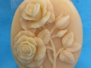 「茜」石けん 幸福のバラ 60g